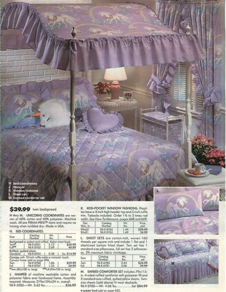 Sears Canopy Bed, Similar To The One I Had