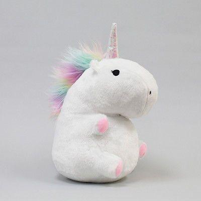 Smoko Cute Kawaii Plush Unicorn Led Multicolor Light Up Color