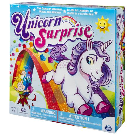 Spin Master Games Unicorn Surprise – Board Game With An