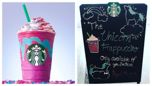 Stop Press; There's A Unicorn Frappuccino Now!