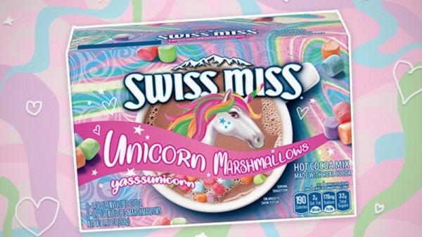 Swiss Miss Is Making Unicorn Hot Chocolate Mix