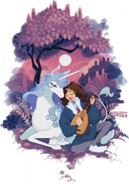 The Last Unicorn + Dan Avidan By Onsta