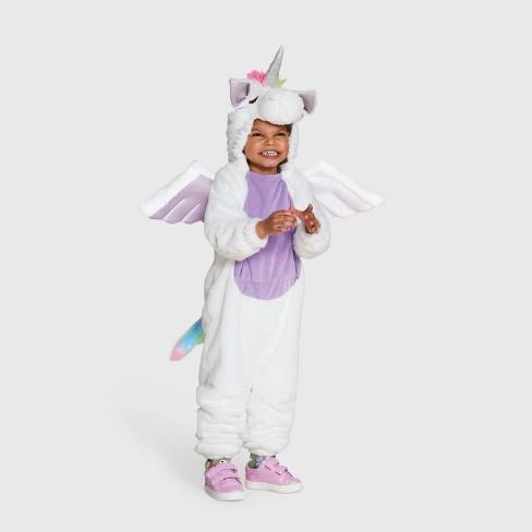 Toddler Plush Adaptive Unicorn Halloween Costume