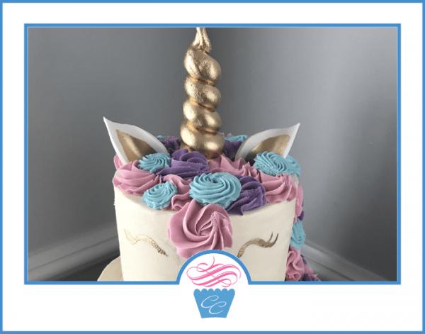 Unicorn Cake Two Tier – Carolina Confection