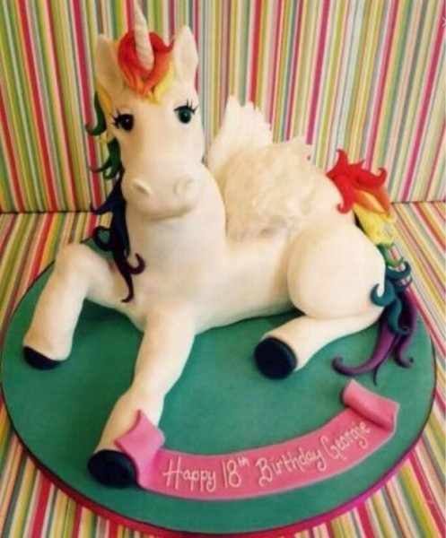 Unicorn Cakes Are A Thing