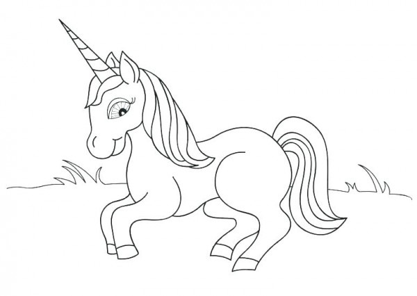 Unicorn Coloring Pages For Kids – Danquahinstitute Org
