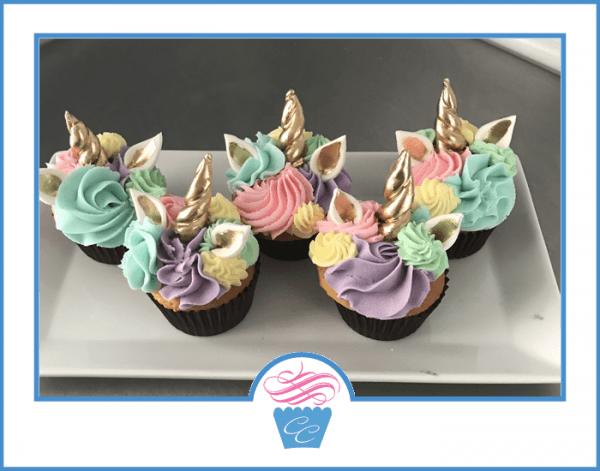 Unicorn Cupcakes – Carolina Confection