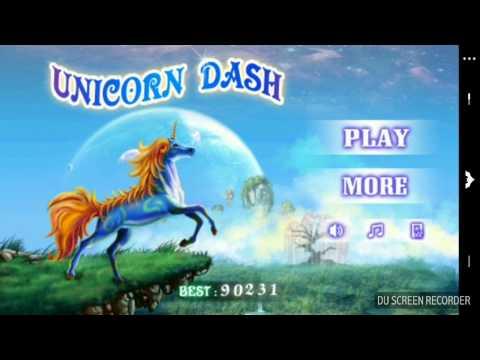 Unicorn Dash Gameplay On Android