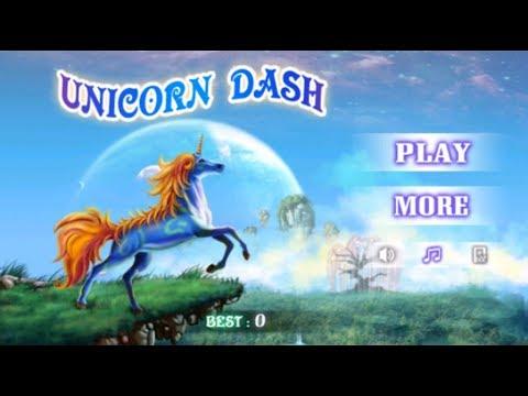 Unicorn Dash Playing Game