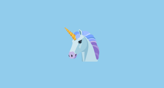 🦄 Unicorn Face Emoji On Facebook 2 0