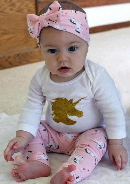 Unicorn First Birthday Outfit