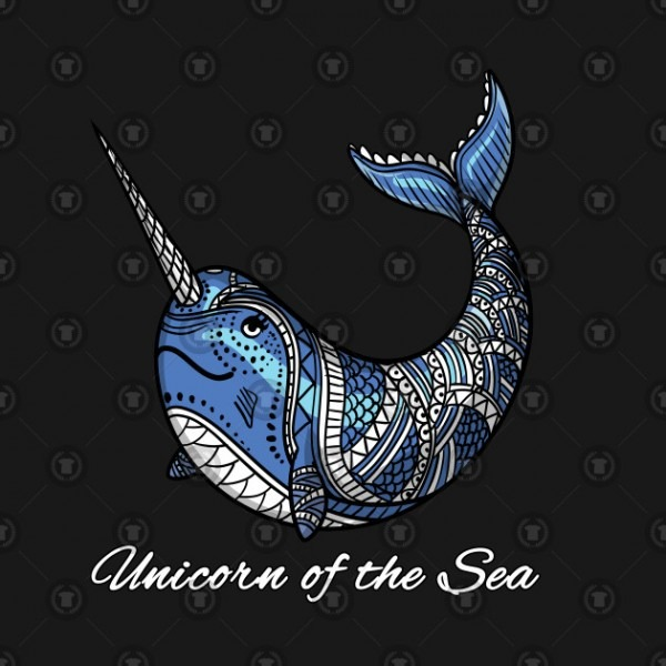 Unicorn Of The Sea Narwhal For Boys And Girls