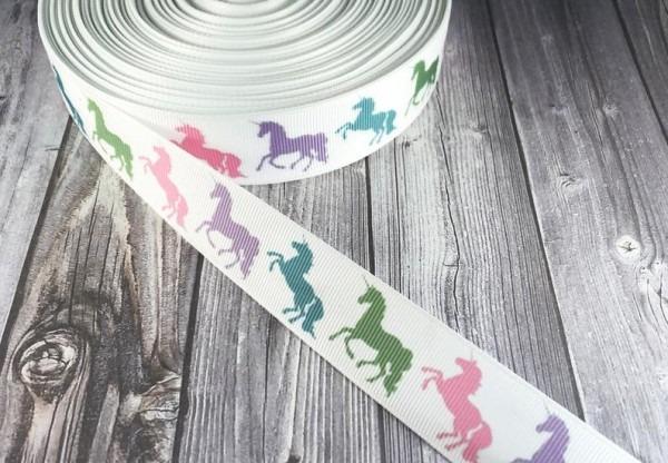 Unicorn Ribbon 1 Grosgrain Ribbon Magical Unicorn