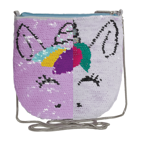 Unicorn Sequin Crossbody Bag