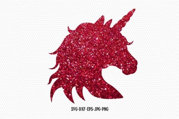 Unicorn Svg, Unicorn Head Silhouette