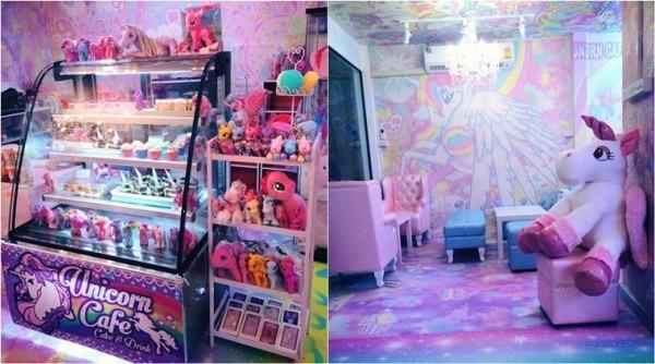 World Of Fantasy  Bangkok's Rainbow Coloured Unicorn