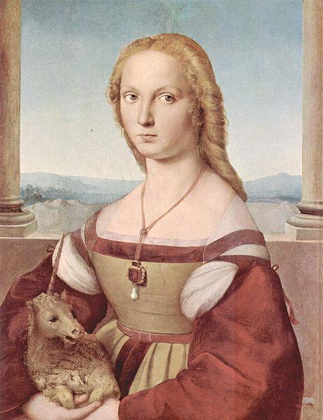 Young Woman With Unicorn By Raphael – Facts About The Painting