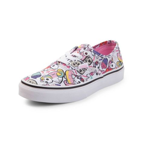 Youth Vans Authentic Donut Unicorn Skate Shoe