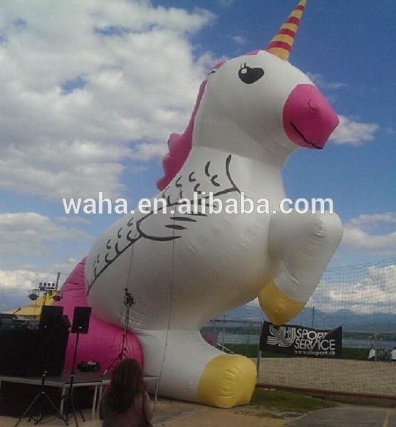 11m Tall Giant Inflatable Unicorn