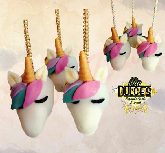 3d Themed Candy Apples Unicorn Baby Shower Birthday Apple
