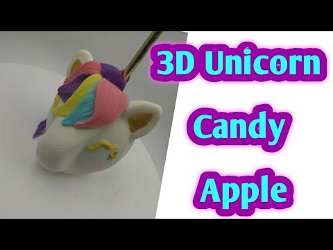 3d Unicorn Candy Apple Tutorial