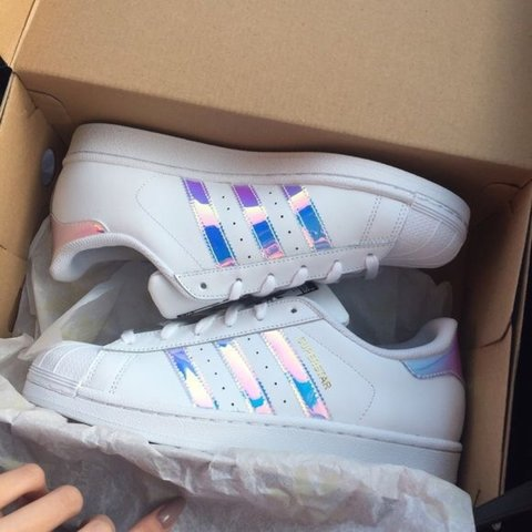 Adidas Superstar Holographic Unicorn Shoes! Don't