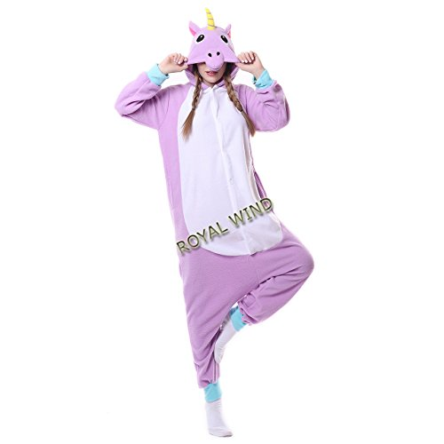 Adult Unicorn Onesie Pajamas Kigurumi Cosplay Costumes Animal