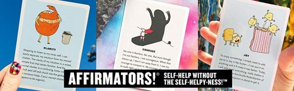 Affirmators! Original Deck 50 Affirmation Cards To Help You Help