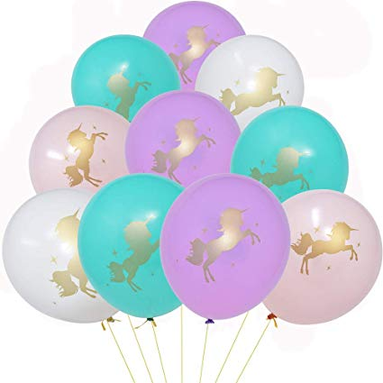 Amazon Com  36 Unicorn Balloons Decorations 12  Latex Balloons