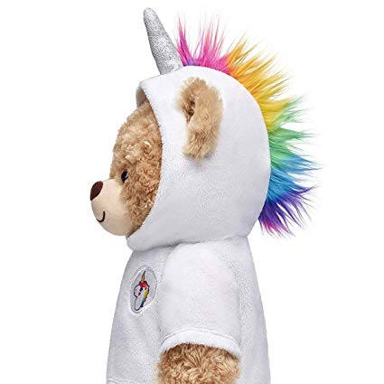 Amazon Com  Build A Bear Workshop Rainbow Unicorn Hoodie  Toys & Games