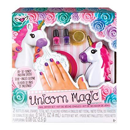 Amazon Com  Fashion Angels Unicorn Magic Nail Dryer Set  Toys & Games