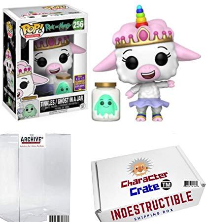 Amazon Com  Funko Pop! Sdcc Rick And Morty Tinkles And Ghost In A
