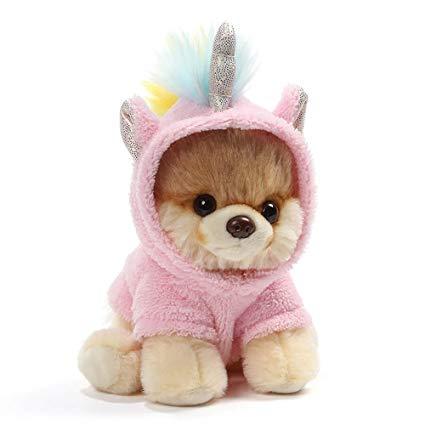 Amazon Com  Gund World's Cutest Dog Boo Itty Bitty Boo Unicorn
