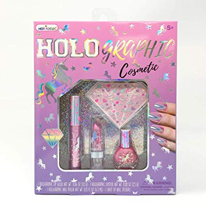 Amazon Com  Hot Focus Holographic  Iridescent Effect Cosmetic Set