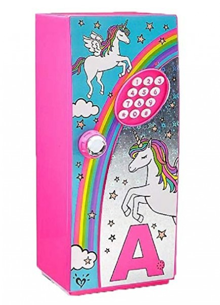 Amazon Com  Magical Unicorn Storage Mini Locker Safe For Girls