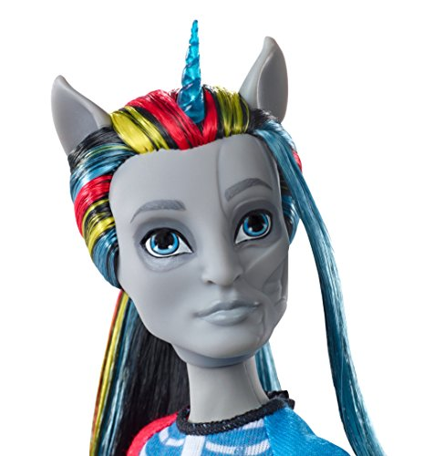 Amazon Com  Monster High Freaky Fusion Neighthan Rot Doll  Toys