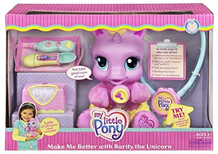 Amazon Com  My Little Pony Make Me Better With Rarity The Unicorn