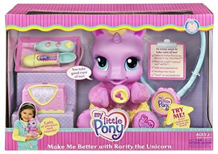 Amazon Com  My Little Pony Make Me Better With Rarity The Unicorn
