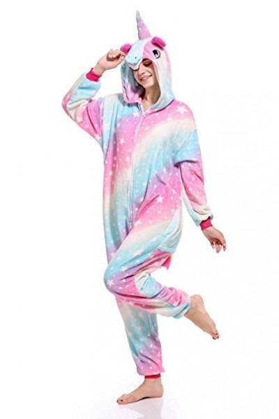 Amazon Com  Niceko Unisex Unicorn Costumes Pajamas Adult Women Men