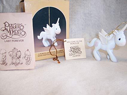 Amazon Com  Precious Moments Unicorn Ornament From Enesco  Home