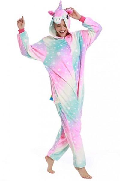 Amazon Com  Premium Unicorn Onesie Adult Animal Pajamas For Women