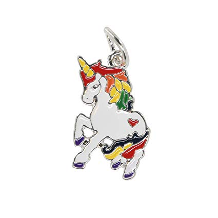 Amazon Com  Rainbow Unicorn Charm, Lgbtq Gay Pride Charm In A Bag