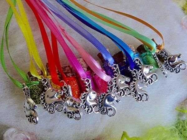 Amazon Com  Rainbow Unicorn Party Favors 10 Unicorn Necklaces
