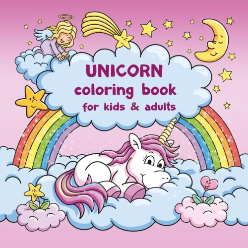 Amazon Com  Unicorn Coloring Book For Kids And Adults + Bonus Free