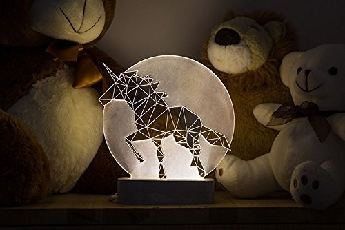 Amazon Com  Unicorn Lamp   Full Moon Edition  Handmade