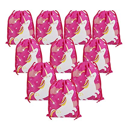 Amazon Com  Unicorn Party Bags Supplies For Girls Birthday Party