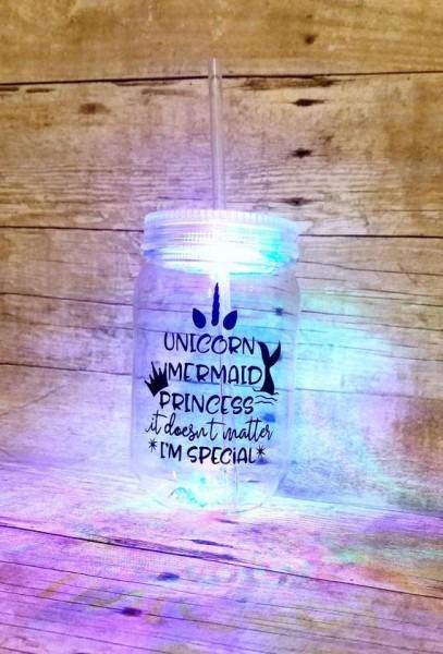 Birthday Gift For Girl Kids Birthday Cup Light Up Unicorn