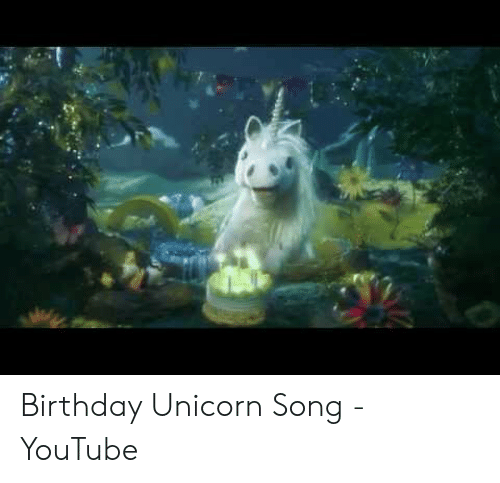 Birthday Unicorn Song