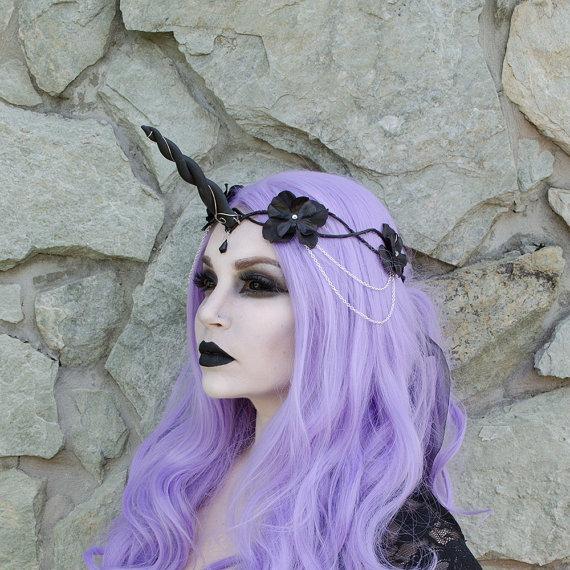 Black Unicorn Crown