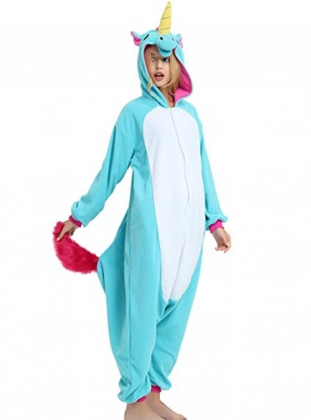 Blue Unicorn Onesie For Kids (5